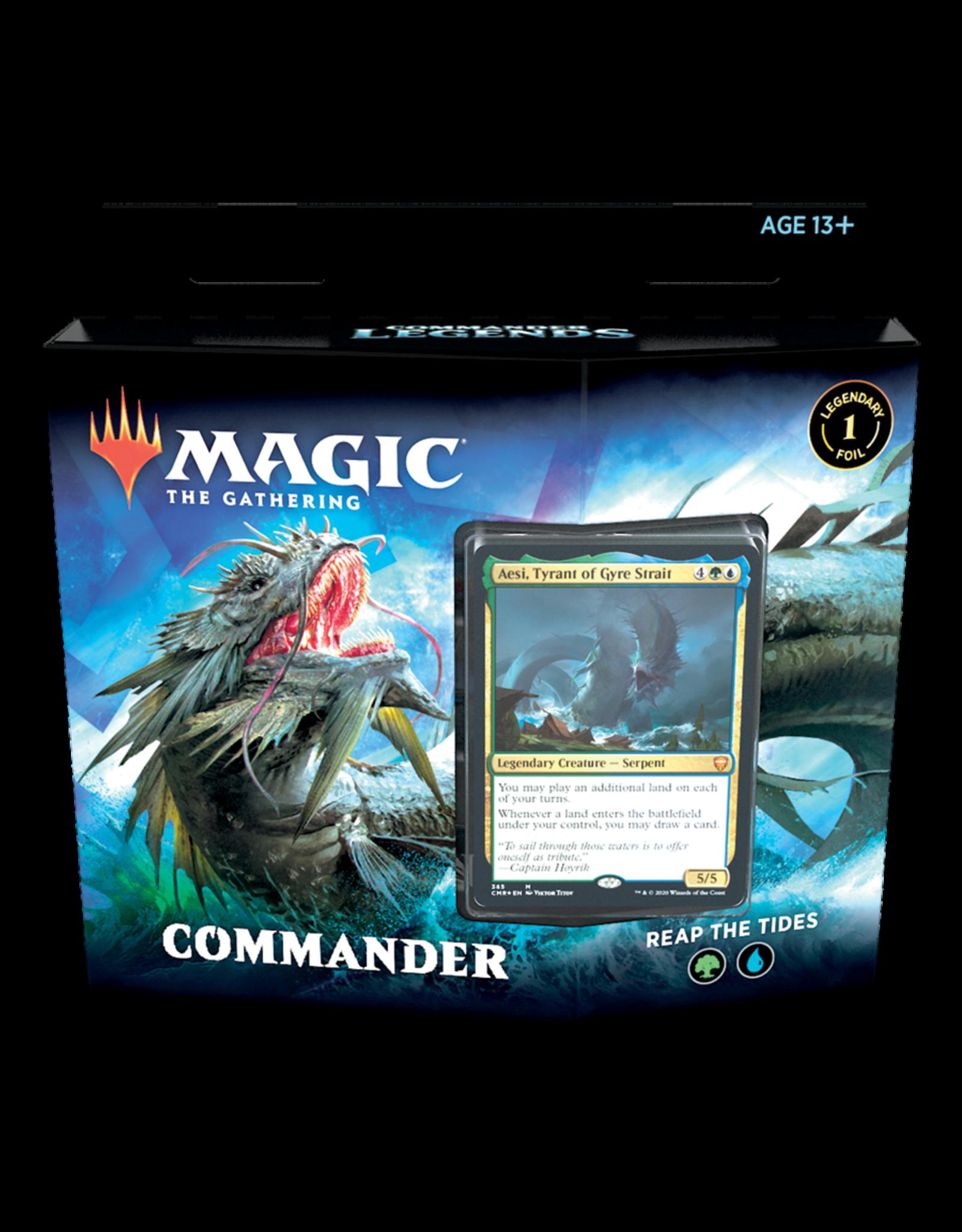 Wizards of the Coast Commander Legends Commander Deck - Reap the Tides