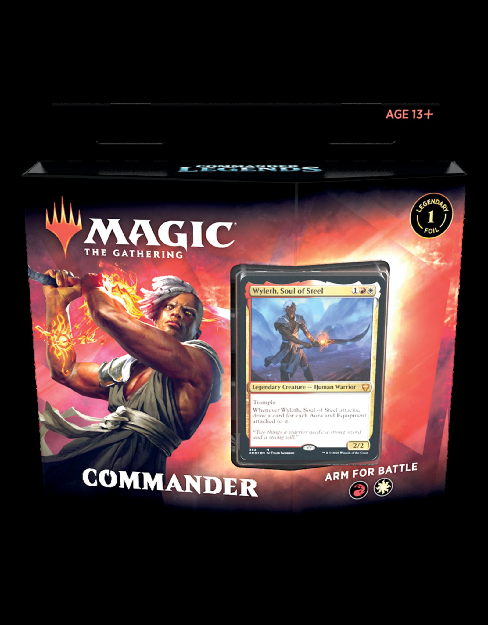 Wizards of the Coast Commander Legends Commander Deck - Arm For Battle
