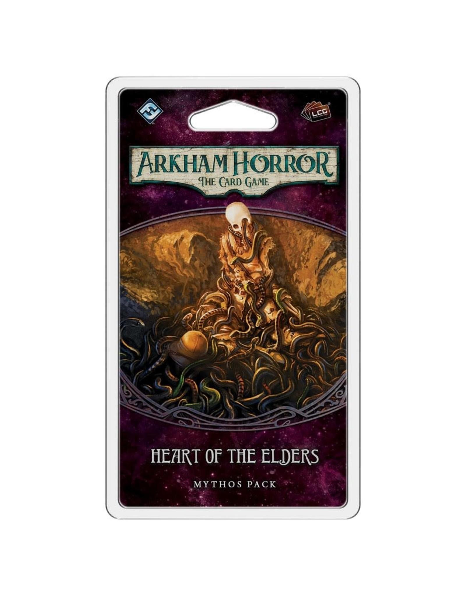 Fantasy Flight Games Arkham Horror LCG: Heart of the Elders Mythos Pack