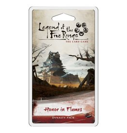 Fantasy Flight Games Legend of the Five Rings LCG: Honor in Flames Dynasty Pack