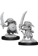 Wizkids W13 Goblin Fighter Male: Pathfinder Deep Cuts Unpainted Miniatures