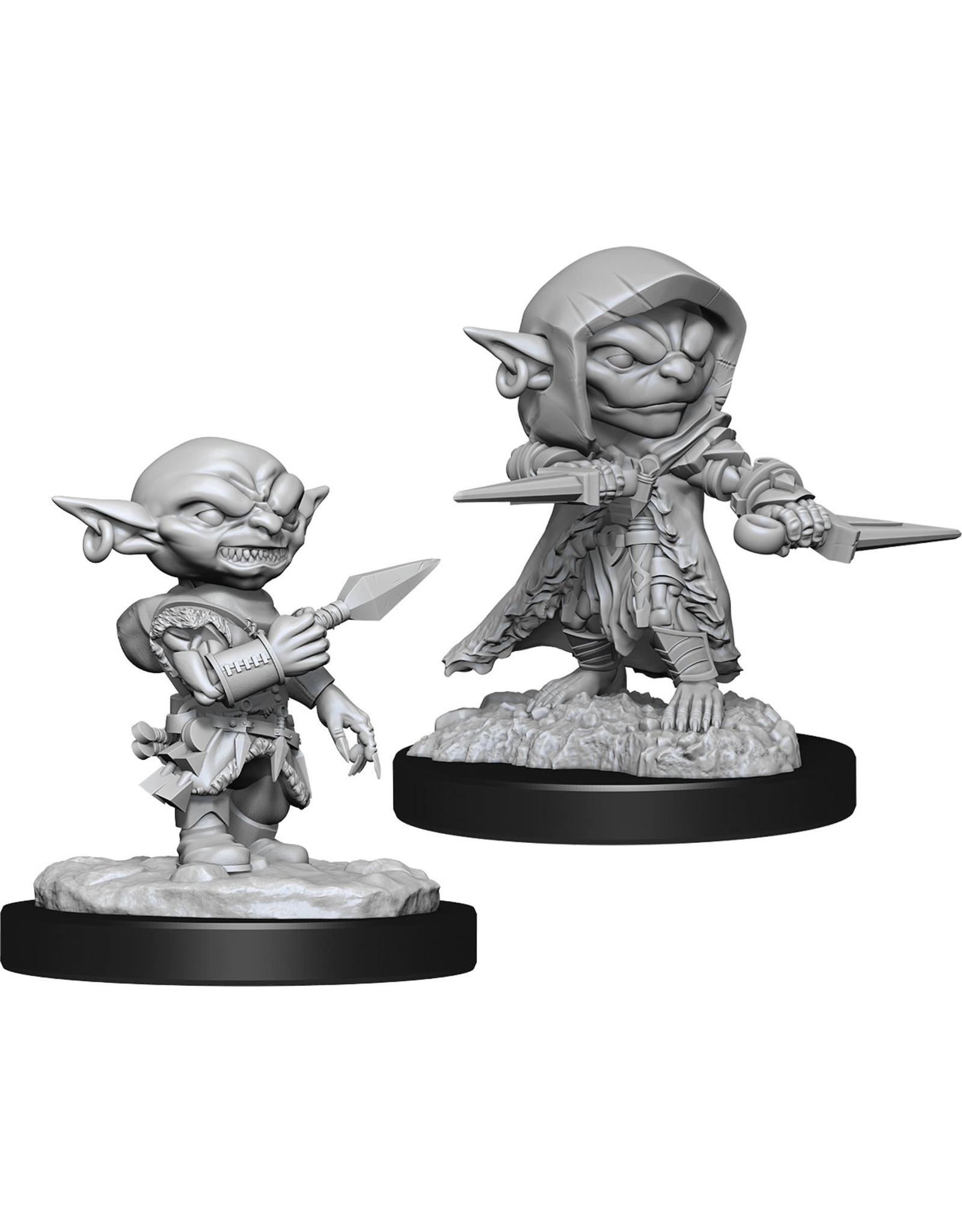 Wizkids W13 Goblin Rogue Male: Pathfinder Deep Cuts Unpainted Miniatures