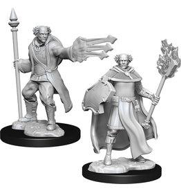 Wizkids W13 Multiclass Cleric + Wizard Male: D&D Nolzurs Marvelous Unpainted Minis