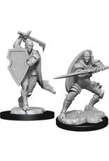 Wizkids W13 Warforged Fighter Male: D&D Nolzurs Marvelous Unpainted Minis