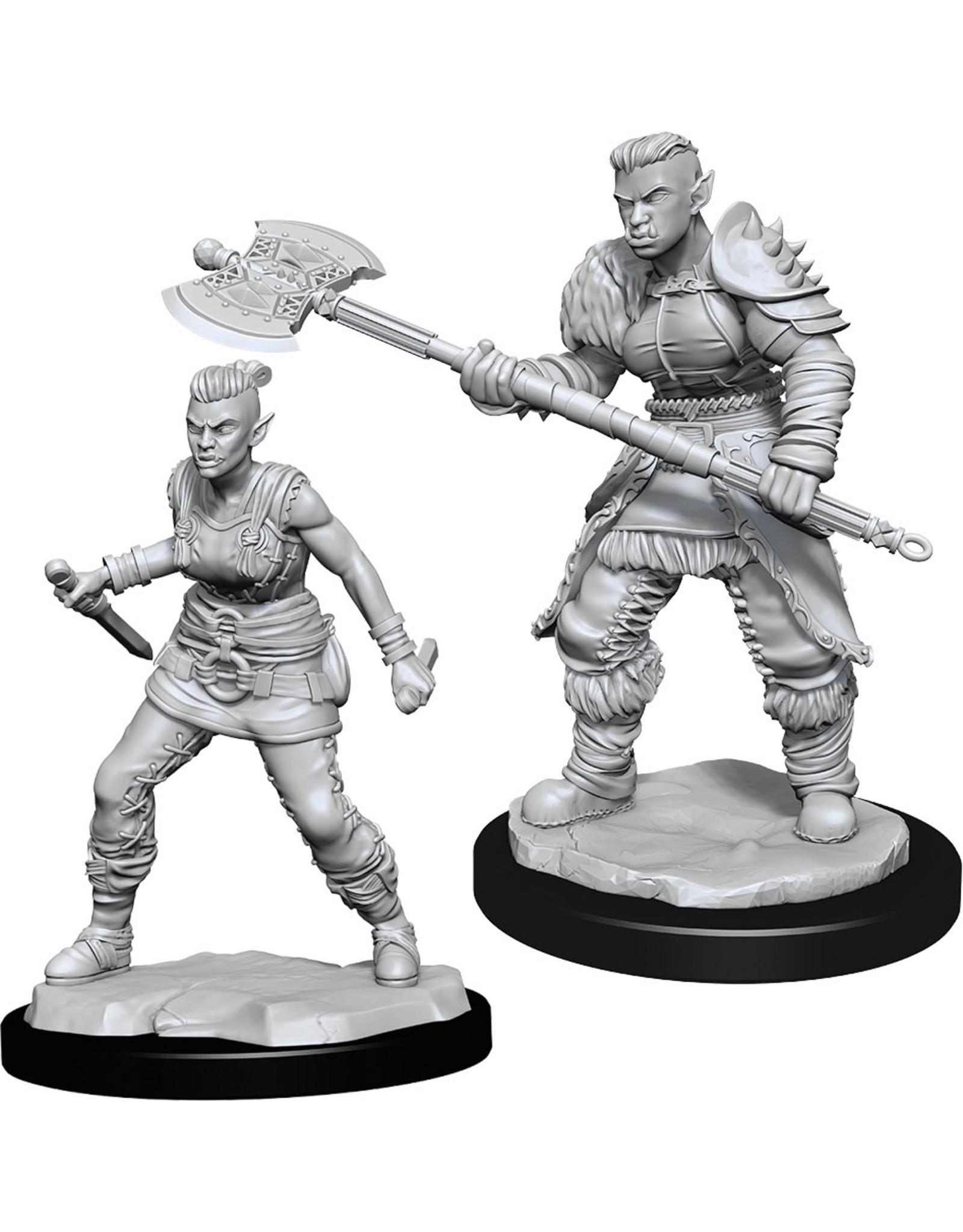 Wizkids W13 Orc Barbarian Female: D&D Nolzurs Marvelous Unpainted Minis