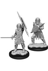 Wizkids W13 Human Fighter Male: D&D Nolzurs Marvelous Unpainted Minis