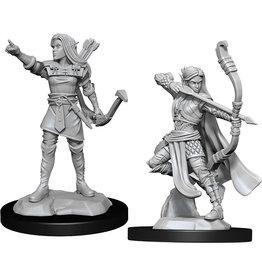 Wizkids W13 Elf Ranger Female: D&D Nolzurs Marvelous Unpainted Minis