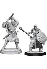 Wizkids W13 Human Barbarian Male: D&D Nolzurs Marvelous Unpainted Minis