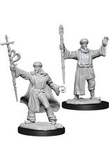 Wizkids W13 Human Wizard Male: D&D Nolzurs Marvelous Unpainted Minis