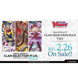 Bushiroad PREORDER: Clan Selection Plus V1 box - Cardfight!! Vanguard