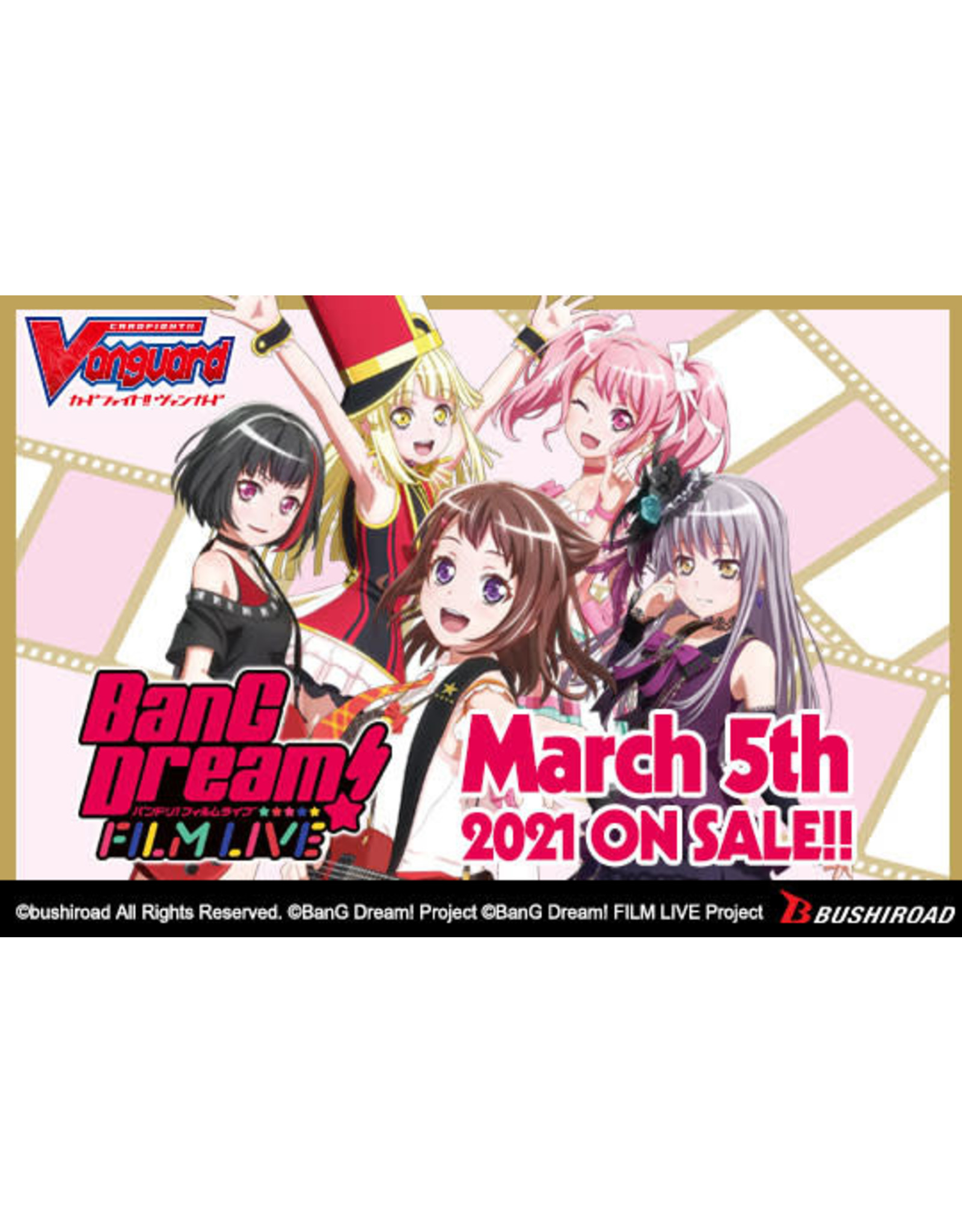 Bushiroad PREORDER: Title Booster: BanG Dream! Film Live box - Cardfight!! Vanguard