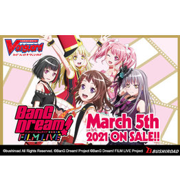 Bushiroad PREORDER: Title Booster: BanG Dream! Film Live box - Cardfight!! Vanguard