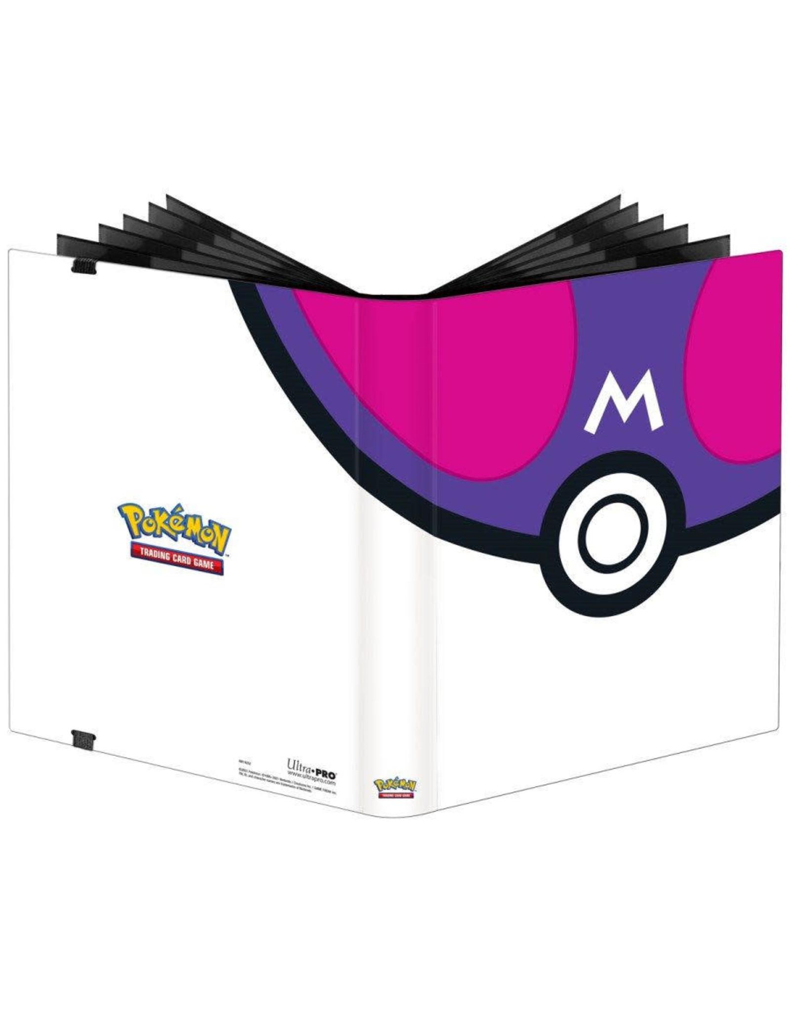 Ultra Pro Master Ball 9-Pocket Pro Binder - Pokemon
