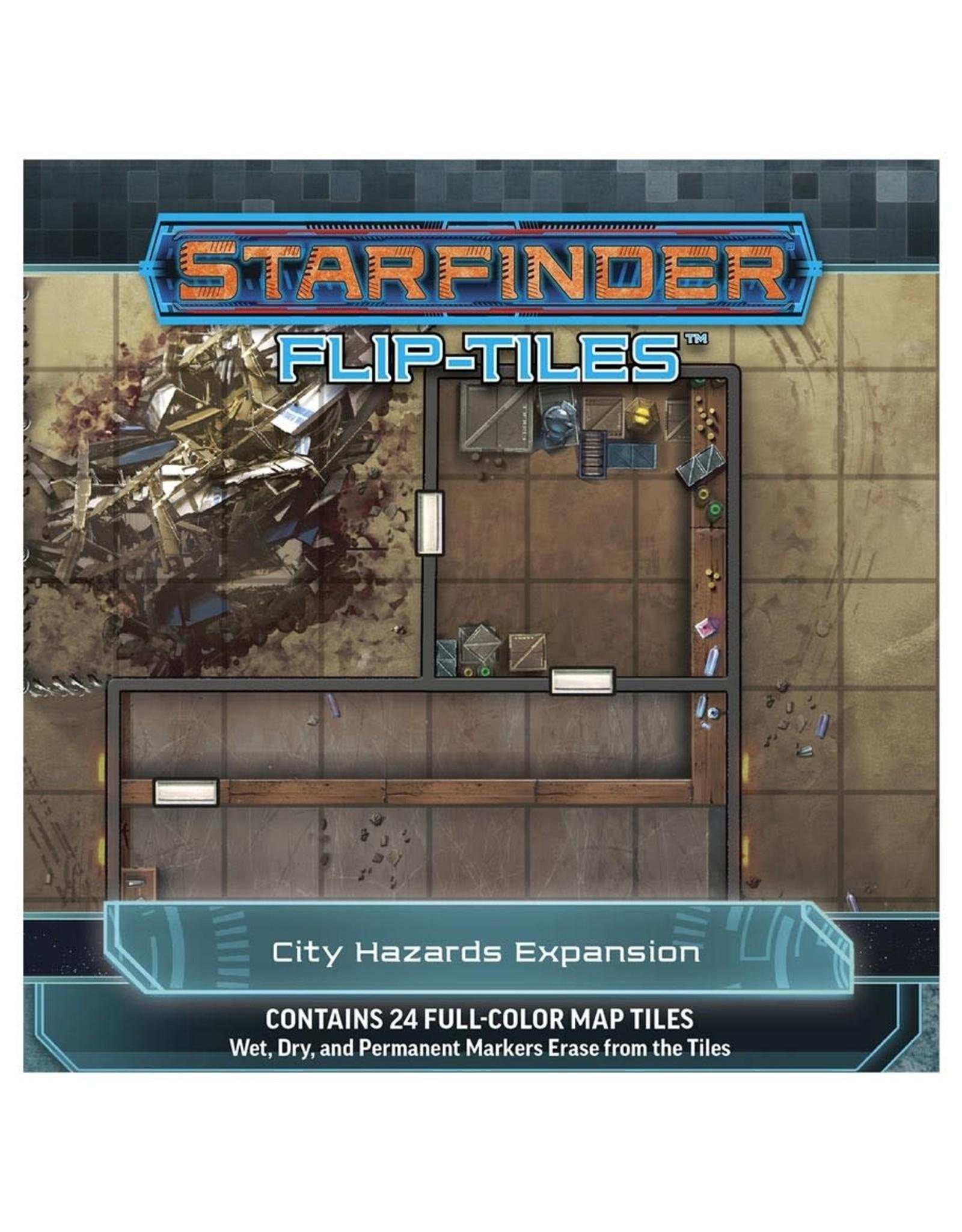 Paizo Starfinder RPG: Flip-Tiles - City Hazards Expansion