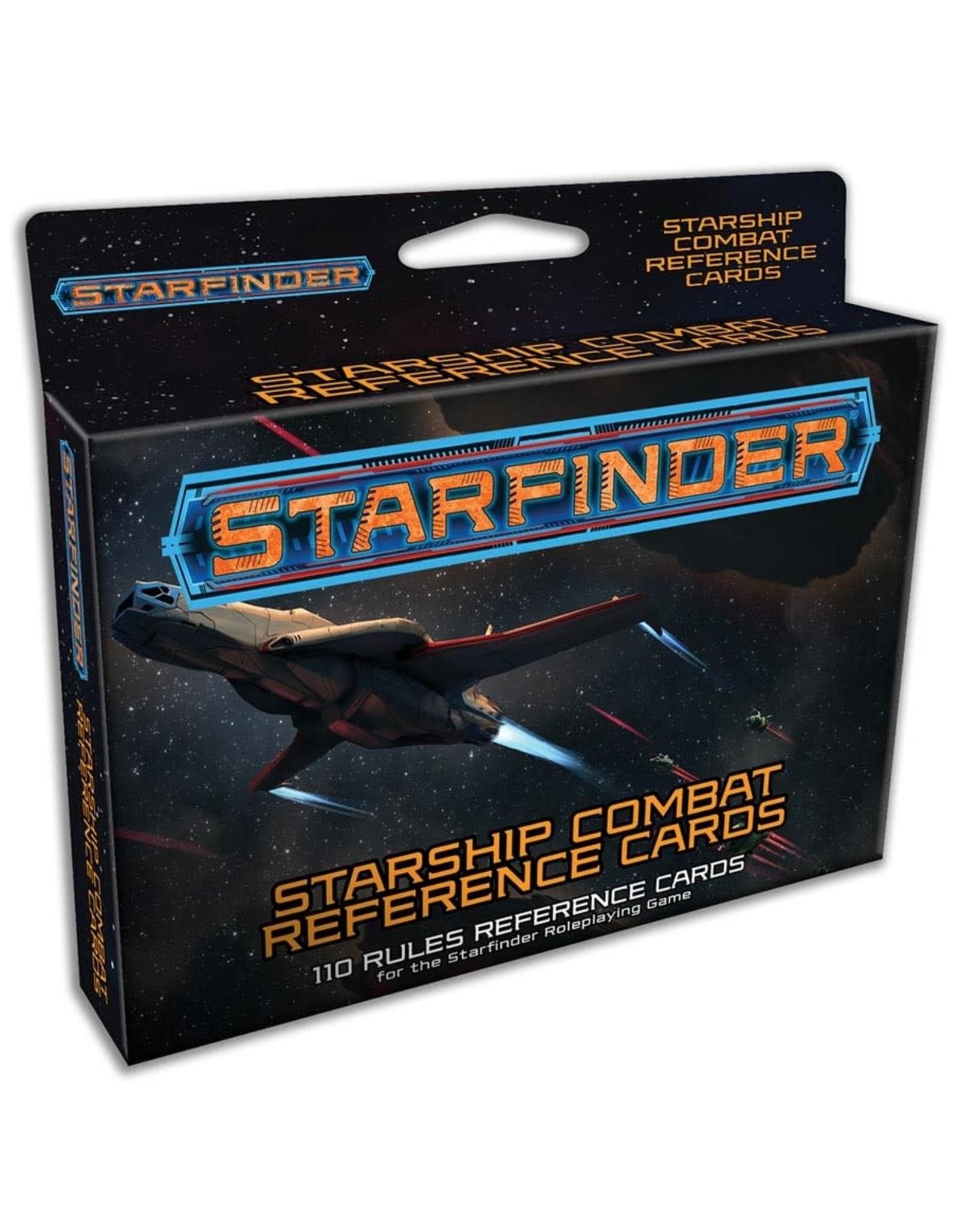 Paizo Starfinder RPG: Starship Combat Reference Cards