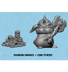 Privateer Press Dhunian Menace & Coin Stacks Bounty Token: Riot Quest
