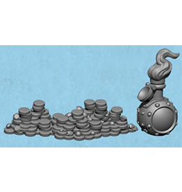 Privateer Press Transmutation Elixer & Treasure Heap Bounty Token: Riot Quest