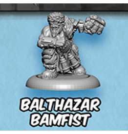 Privateer Press Loot Vault Balthazar Bamfist - Riot Quest