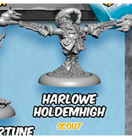 Privateer Press Loot Vault Harlowe Holdemhigh - Riot Quest