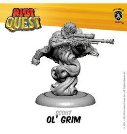 Privateer Press Ol' Grim - Riot Quest