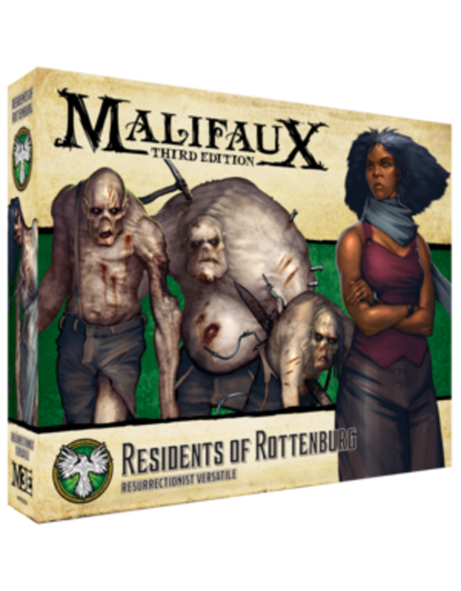 Wyrd Miniatures Residents of Rottenburg - Resurrectionist - Malifaux 3e