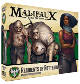 Wyrd Miniatures PREORDER: Residents of Rottenburg - Resurrectionist - Malifaux 3e