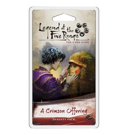 Fantasy Flight Games Legend of the Five Rings LCG: A Crimson Offering Dynasty Pack