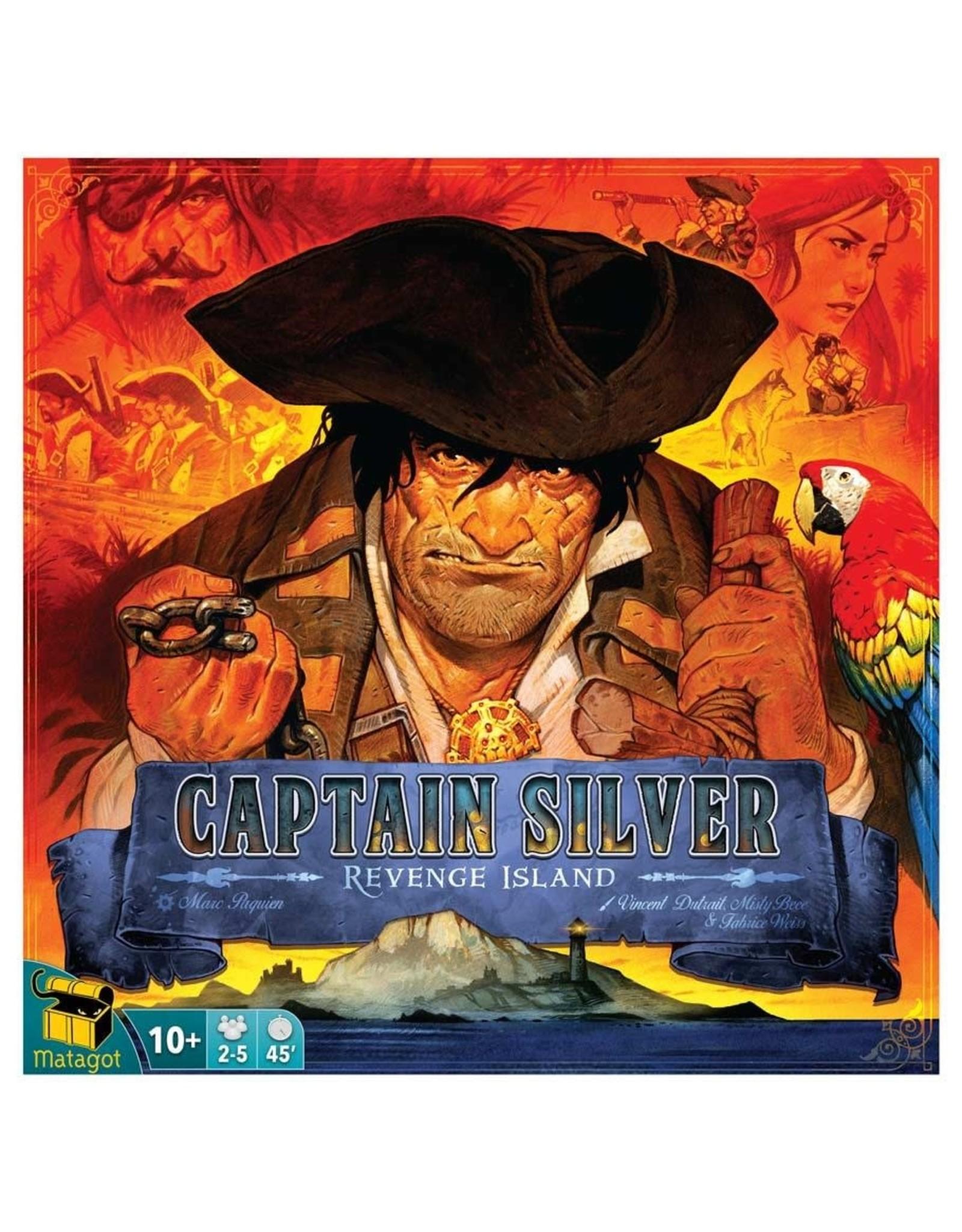 Asmodee Treasure Island: Captain Silver - Revenge Island