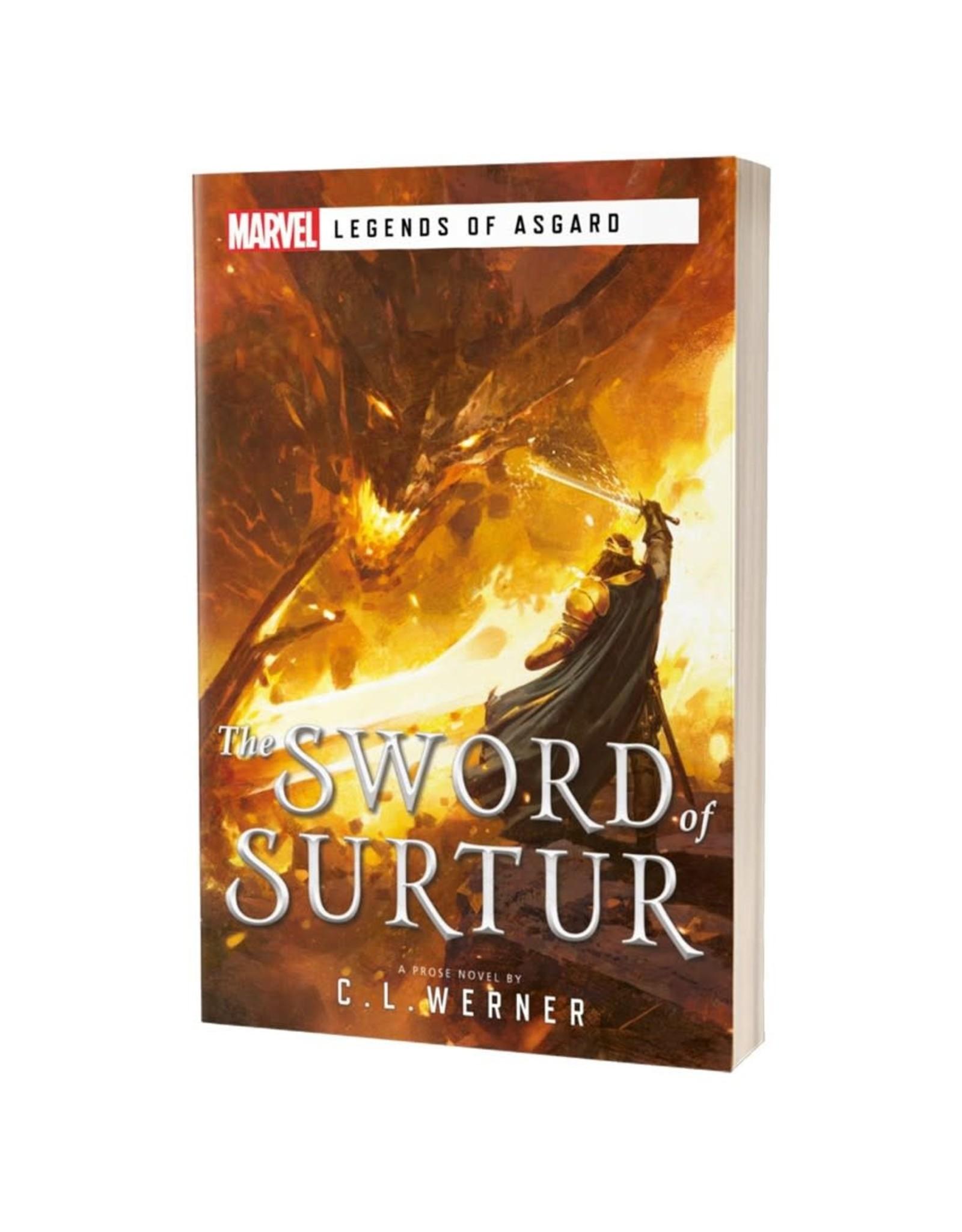 Asmodee Marvel Legends of Asgard: The Sword of Surtur (Novel)