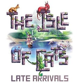 City of Games The Isle of Cats: Late Arrivals Expansion