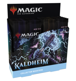 Wizards of the Coast PREORDER: Kaldheim Collector Booster box