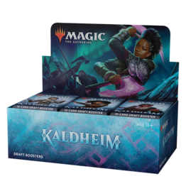 Wizards of the Coast PREORDER: Kaldheim Draft Booster Box - Magic the Gathering