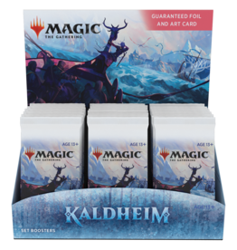 Wizards of the Coast PREORDER: Kaldheim Set Booster box