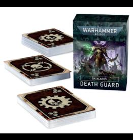Games Workshop PREORDER: Datacards: Death Guard (9th)