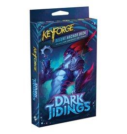 Fantasy Flight Games PREORDER: Dark Tidings Deluxe deck - KeyForge