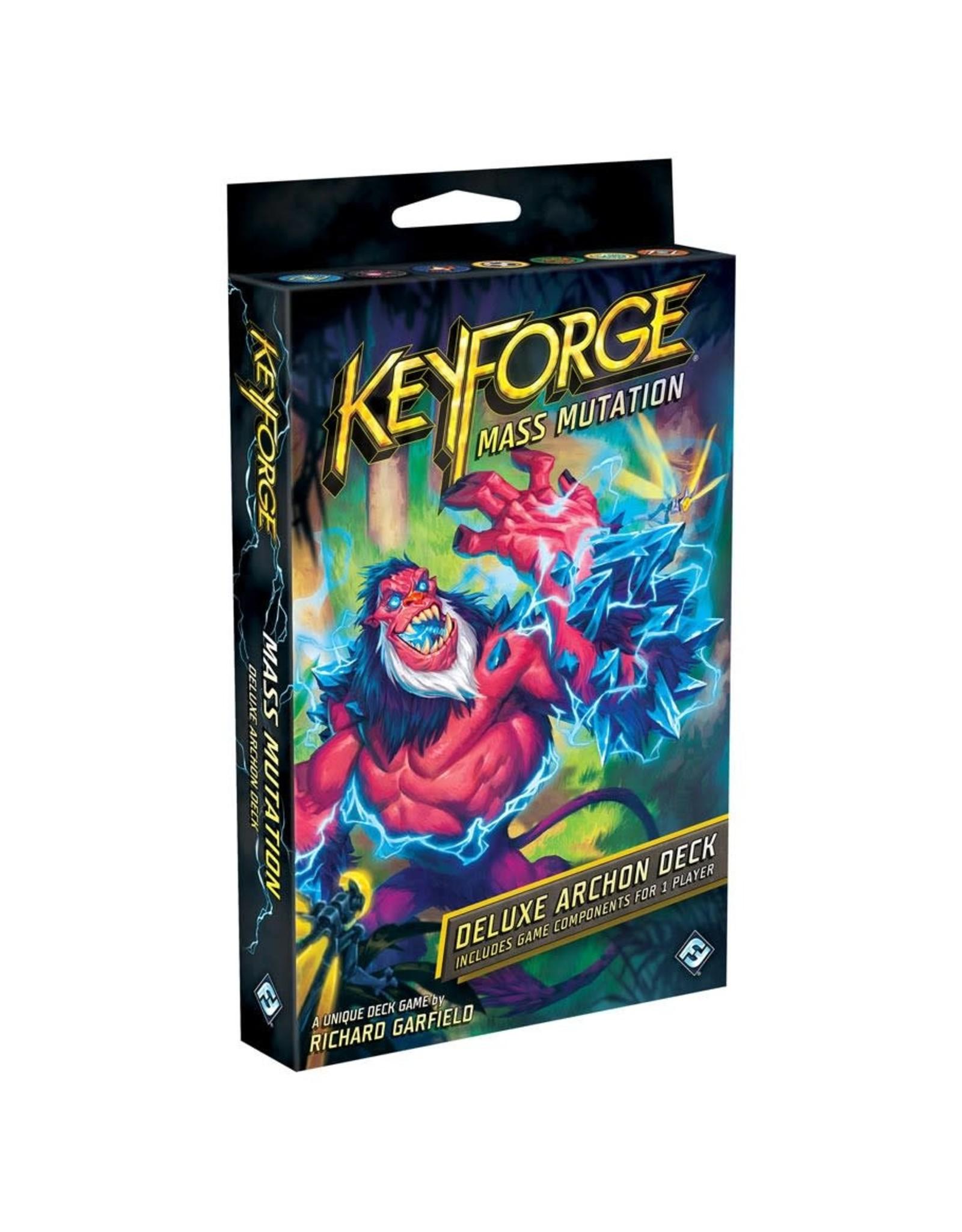 Fantasy Flight Games KeyForge: Mass Mutation Deluxe deck