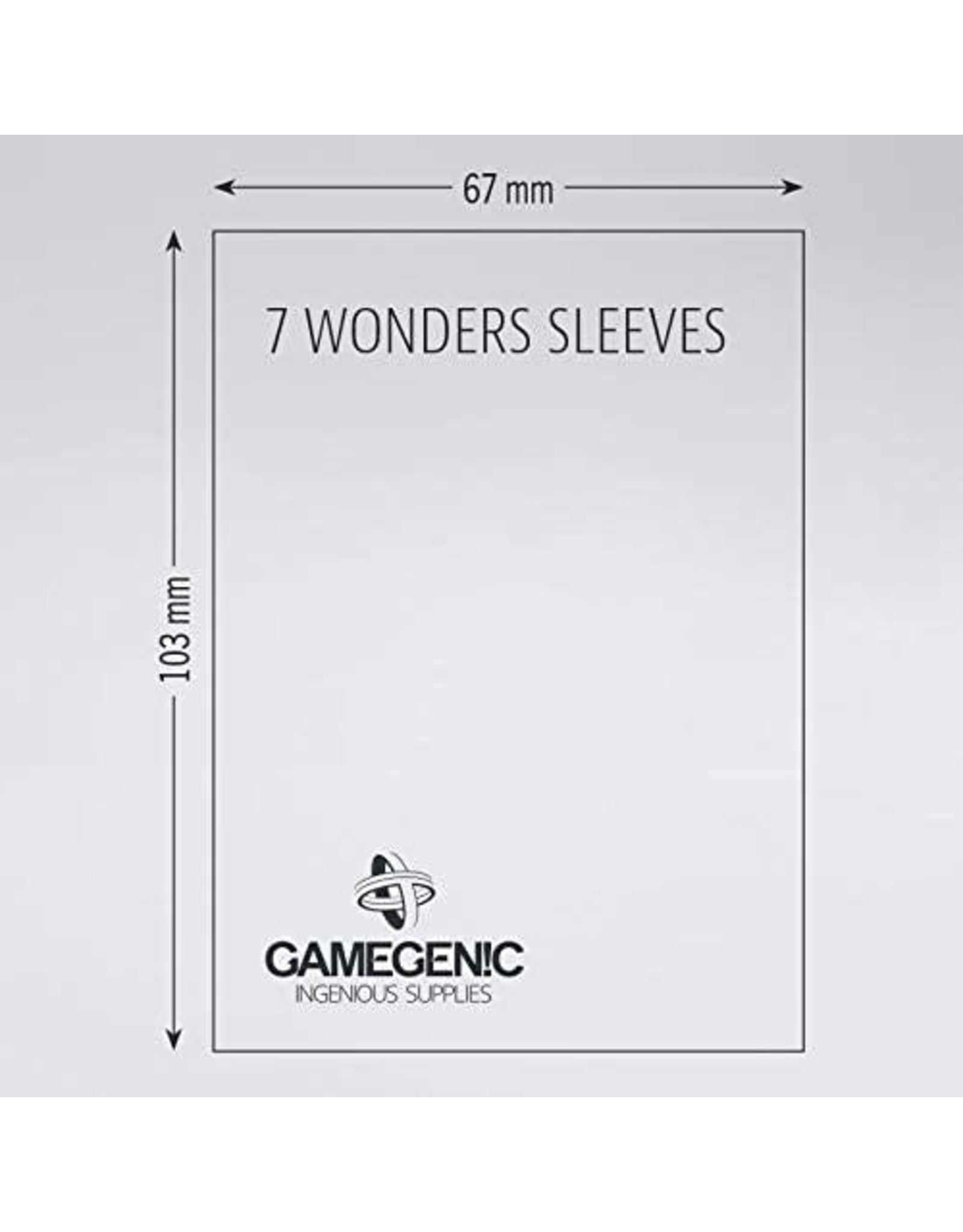 Gamegenic 7 Wonders: PRIME Board Game Sleeves