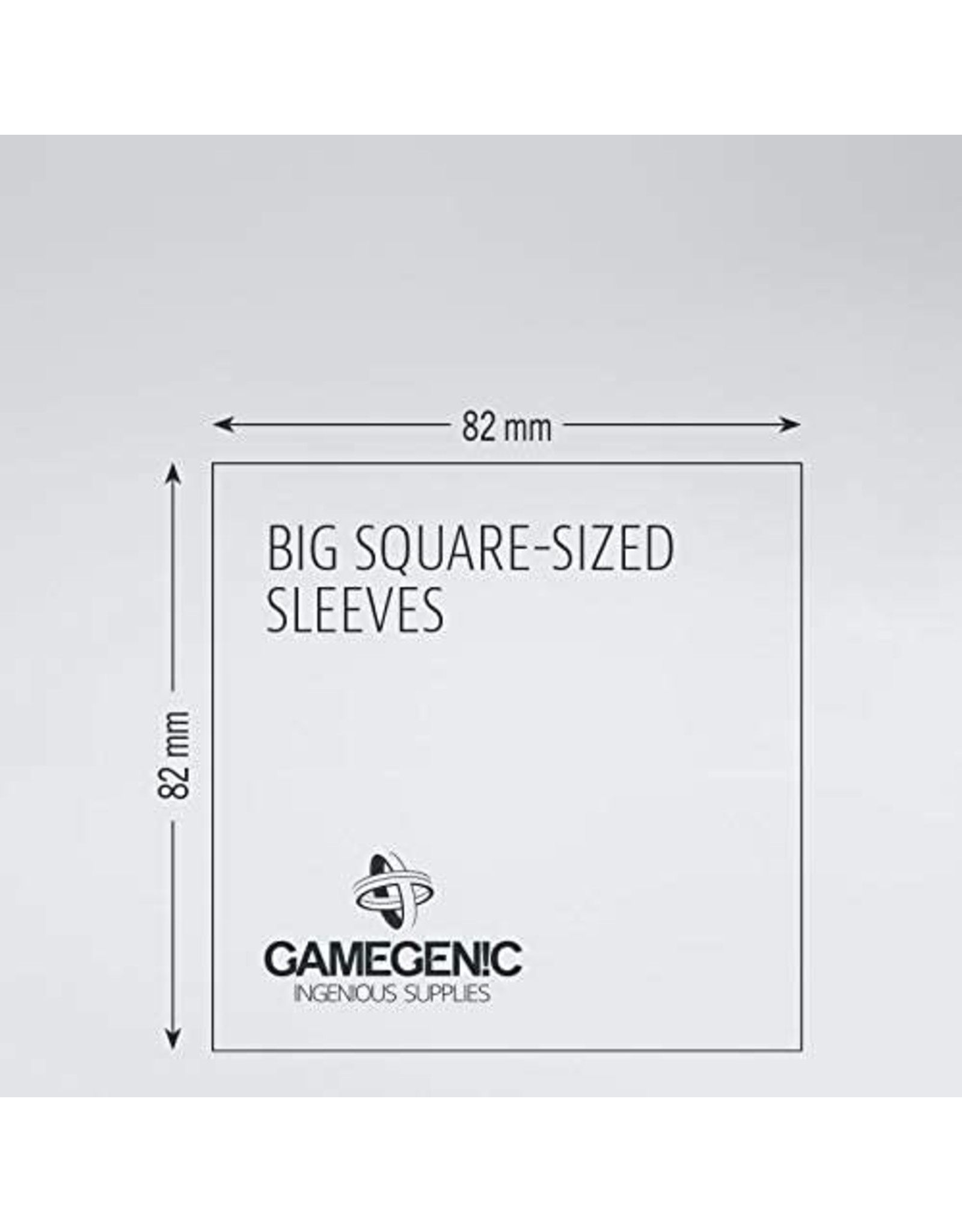 Gamegenic Big Square: MATTE Board Game Sleeves