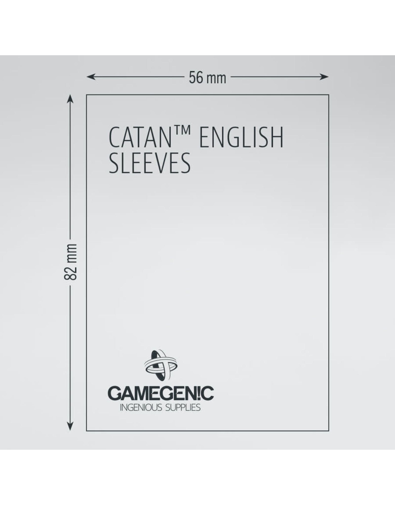 Gamegenic Catan: MATTE Board Game Sleeves