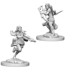 Wizkids Air Genasi Female Rogue: D&D Nolzurs Marvelous Unpainted Minis