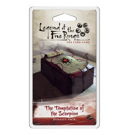 Fantasy Flight Games Legend of the Five Rings LCG: The Temptation of the Scorpion Dynasty Pack