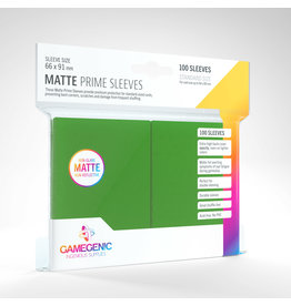 Gamegenic MATTE Prime Sleeves: Green