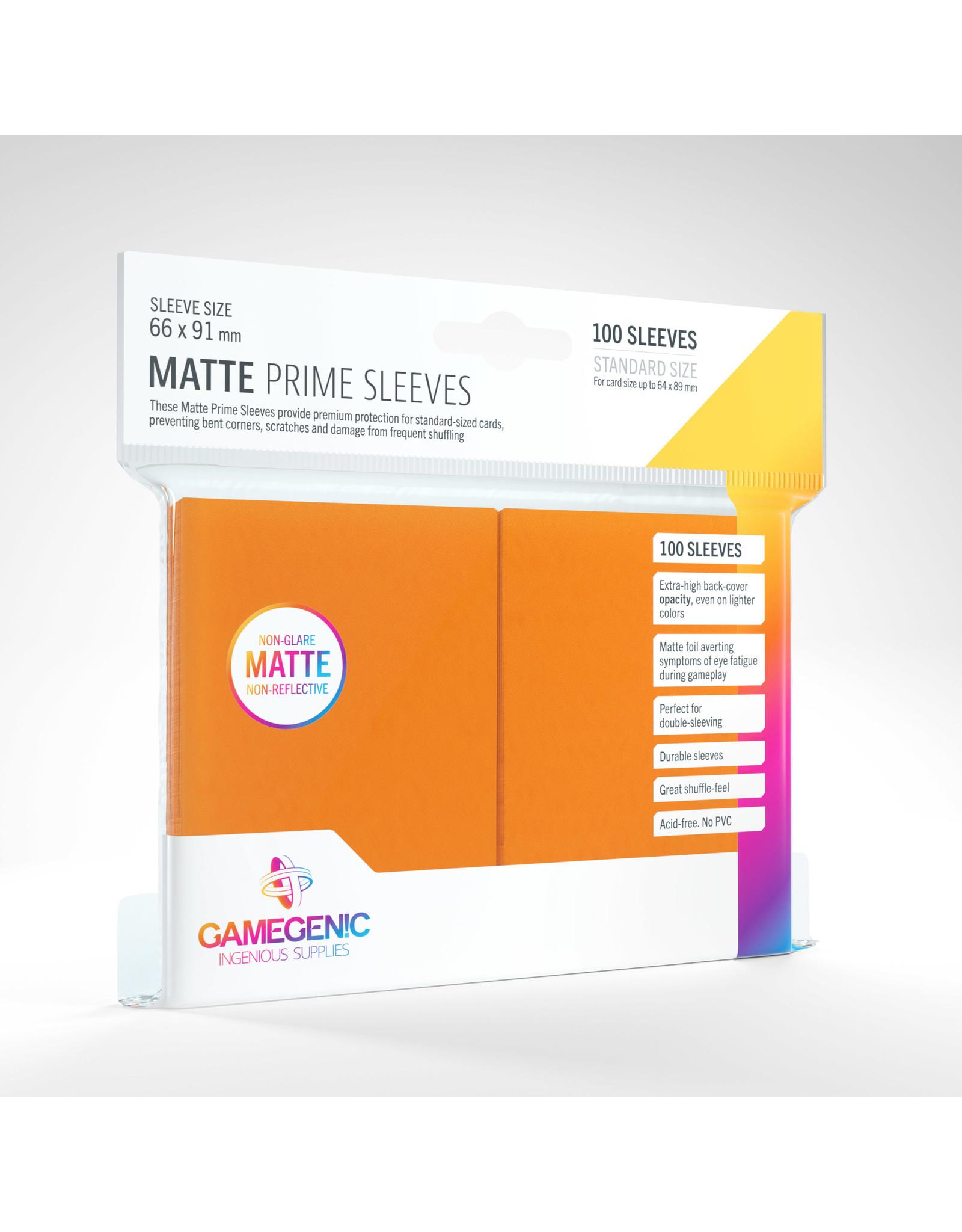 Gamegenic MATTE Prime Sleeves: Orange