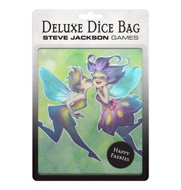 Steve Jackson Games Deluxe Dice Bag: Happy Faeries