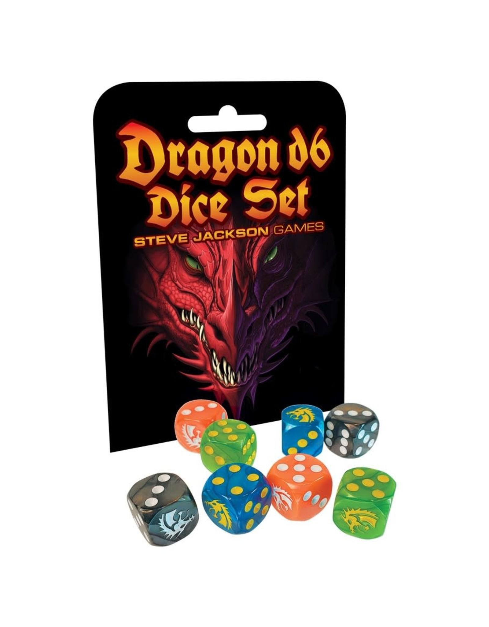 Steve Jackson Games Dragon d6 Dice set