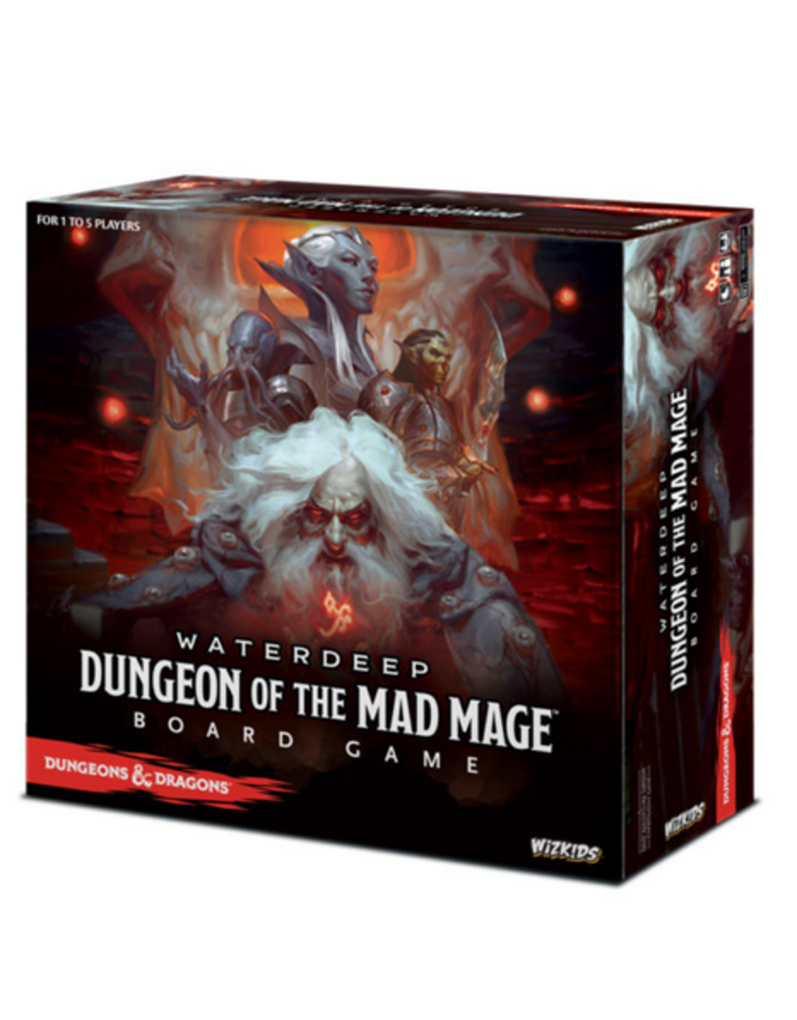 Wizkids D&D Dungeon of the Mad Mage Adventure System Board Game