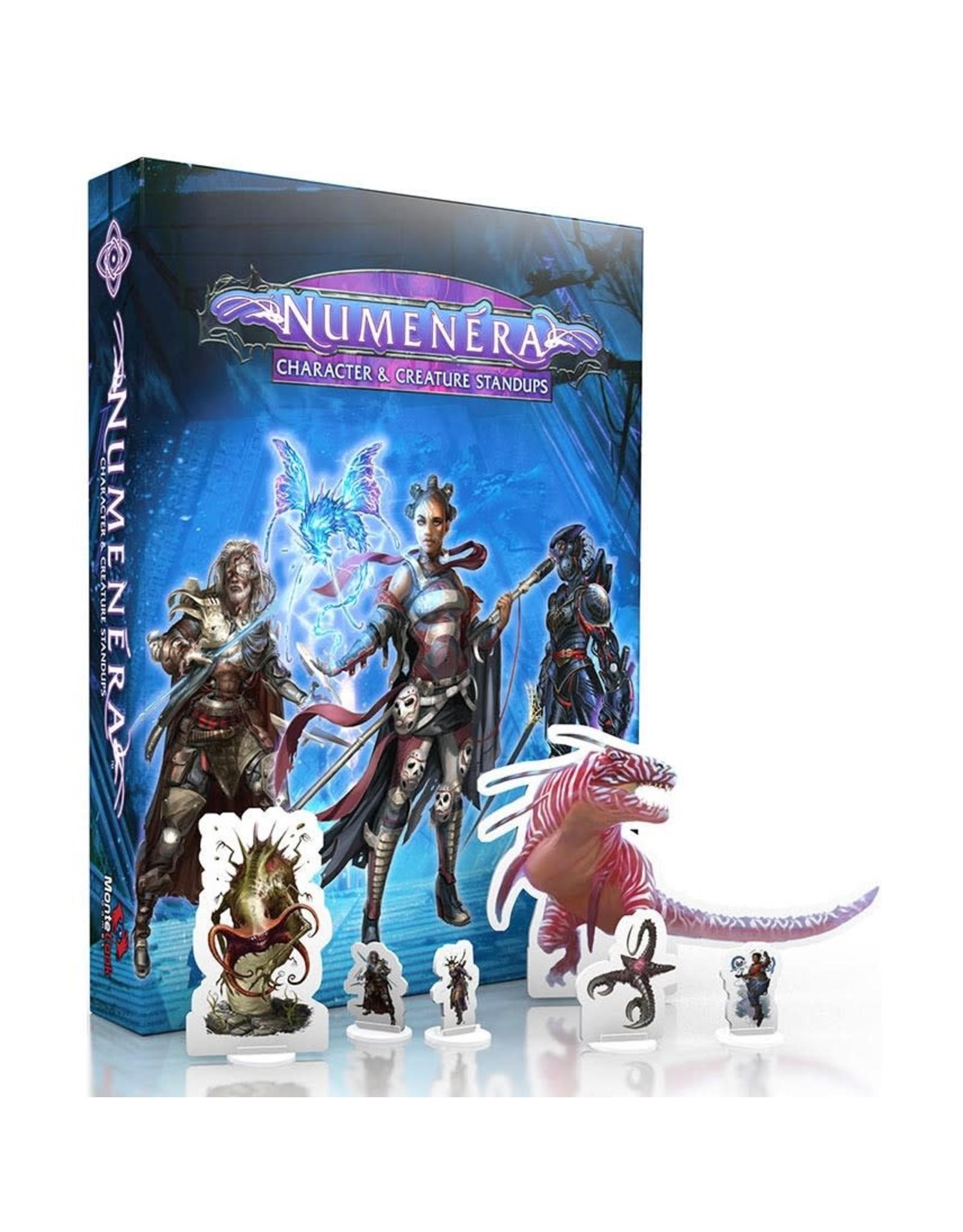 Monte Cook Games Numenera RPG: Character & Creature Standups