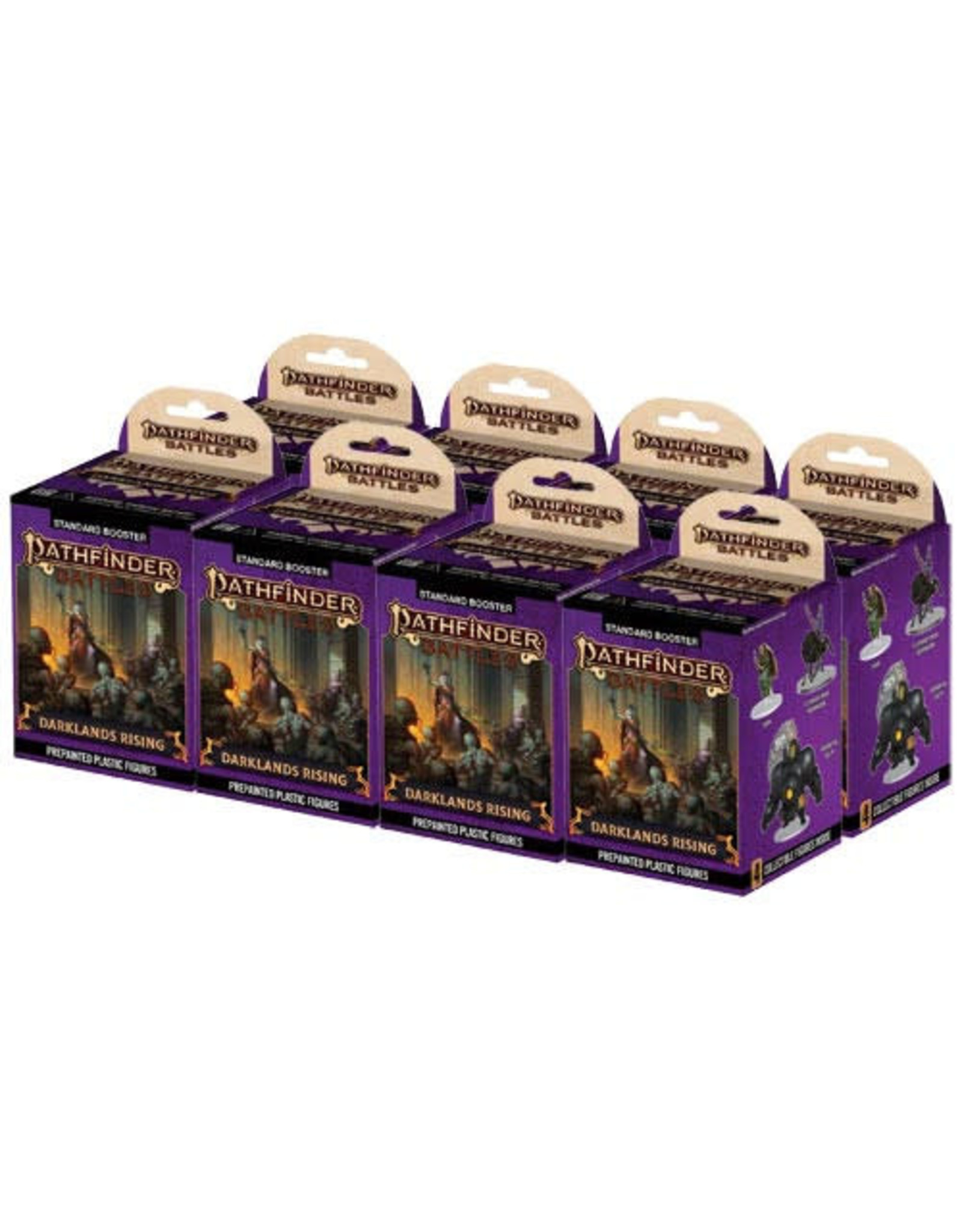 Wizkids Pathfinder Battles: Darklands Rising Booster Brick (8)