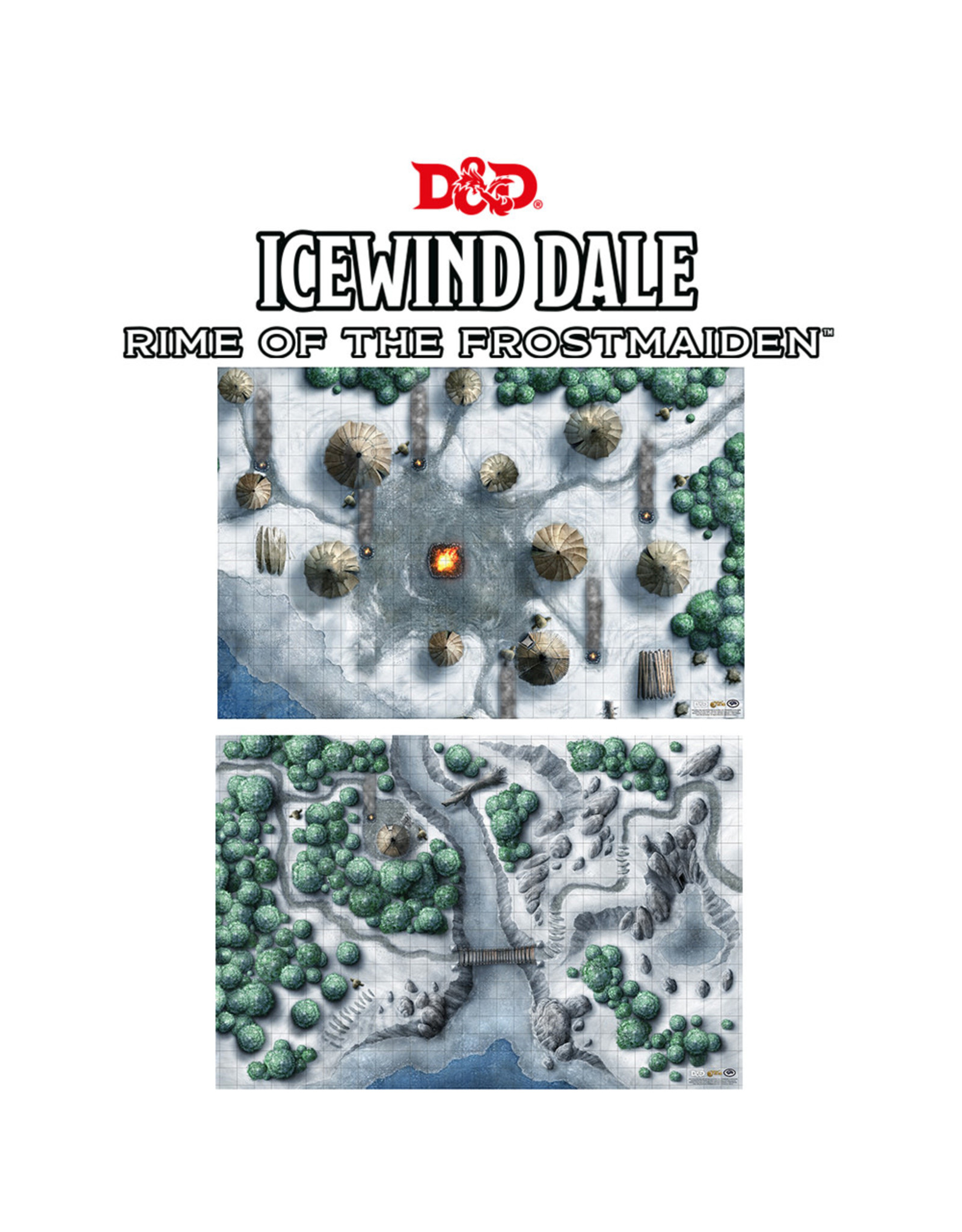 GaleForce Nine D&D 5th Edition: Icewind Dale Encounter Map Set