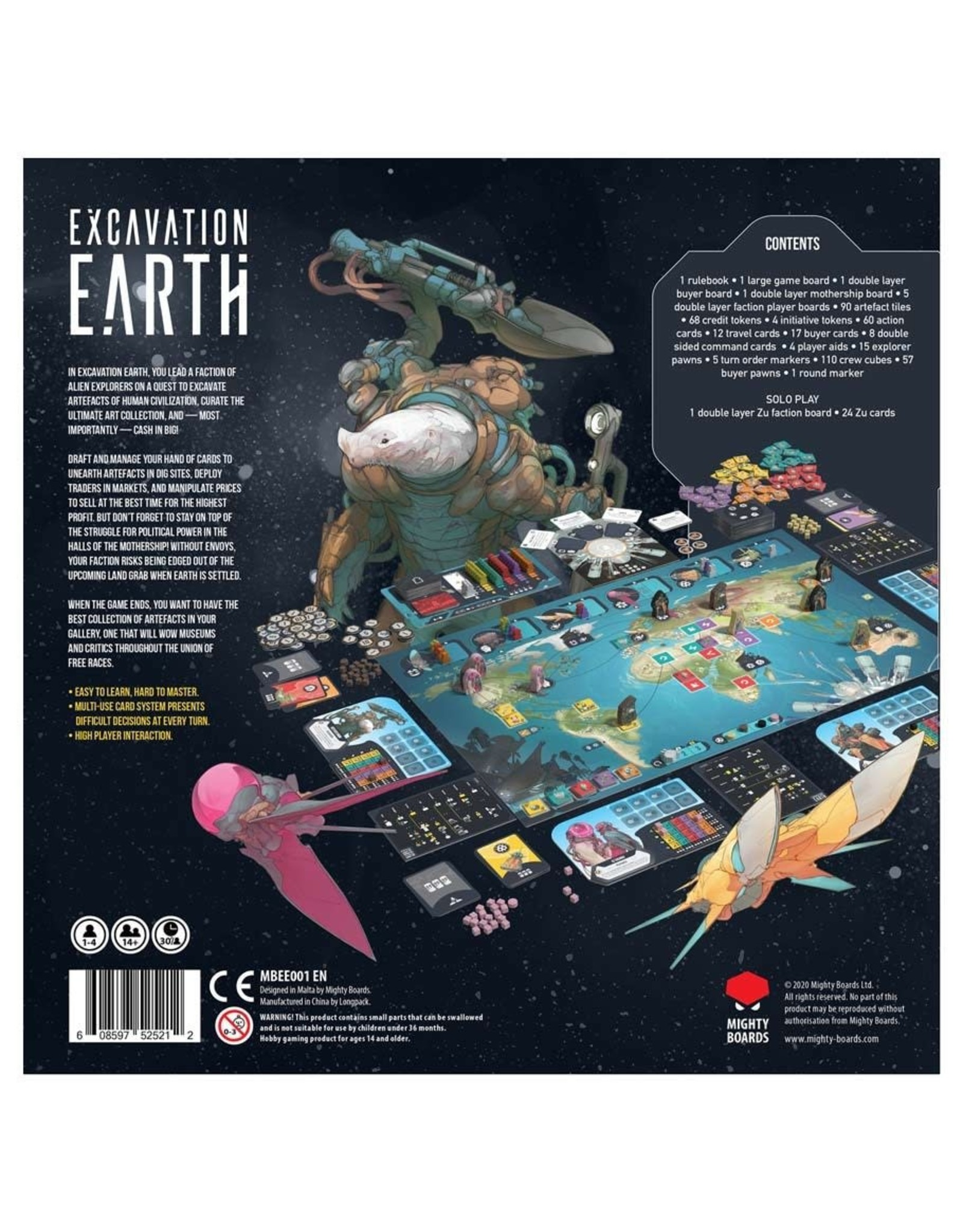 Asmodee Excavation Earth